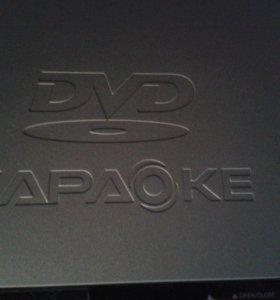 DVD плеер-караоке LG
