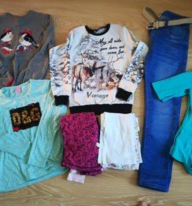 Пакет одежды для девочки 140-146см