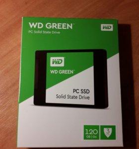 Ssd WD 120гб 3d nand 550 500 новый гарантия 3 года