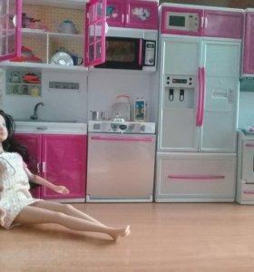Кухня + кукла