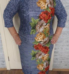 Платье, новое, р.54 - 56