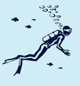 Дайверы, водолазы, аквалангисты, ныряльщики