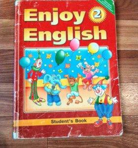 Учебники английского языка со 2 по 6 класс