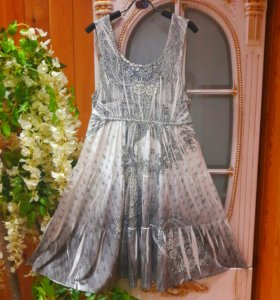 Шикарное платье миди США oversize