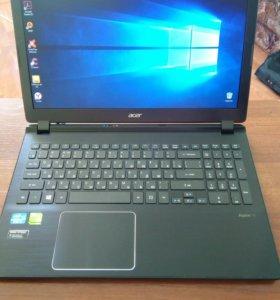 Стальной Тонкий Acer i5 с видеокартой GT750M 4gb