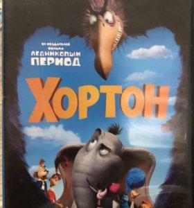 Диски DVD фильмы и мультики