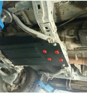 Защита кпп Toyota Land Cruiser Prado 125. 121.120