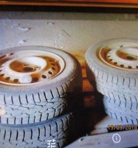 шины с дисками комплект