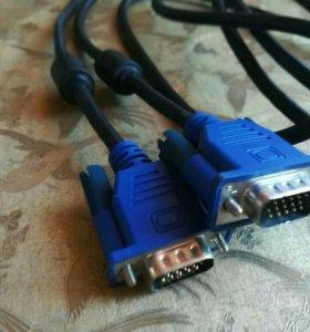 VGA кабель 1.5 м