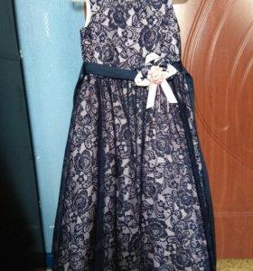 Пышное платье для девочки 7 лет