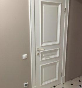 Белые дверные коробки