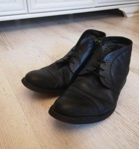 Туфли тёплые мужские