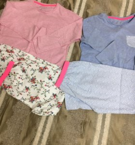 Пижама для девочки(9-10)лет теплая