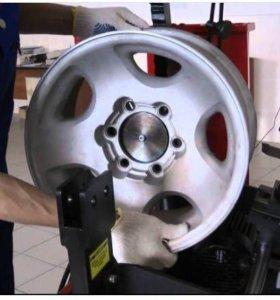 Правка литых дисков