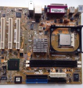 Материнская плата asus P4P800-VM
