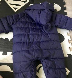 Детский тёплый комбинезон