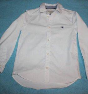 Белая рубашка H&M(134)