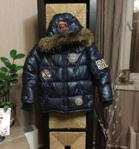 Куртка -Пуховик натуральный