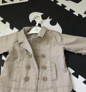 Детский фирменный пиджак