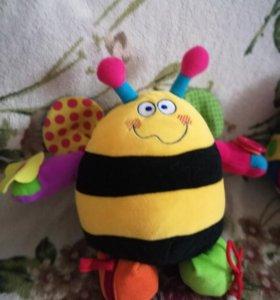 Развивающая игрушка пчёлка