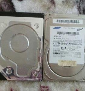 Продам привод и жесткие диски на ПК