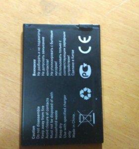 Батарея от jinga A502