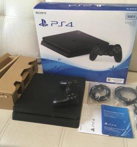 Sony Playstation 4 Slim 500gb + 18 игр