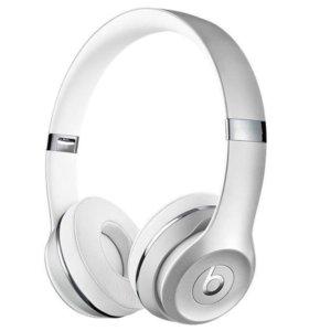 Наушники Beats Solo 3 (беспроводные), Silver,новые
