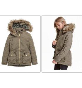 Женская парка, куртка на осень, утепленная