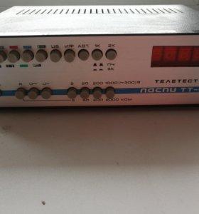 Ласпи ТТ-01 многофункциональный телевизионный тест
