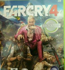 Диск с игрой Far Cry 4 для xbox