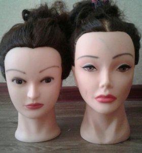 Голова - манекен(800р) и штатив(300р)