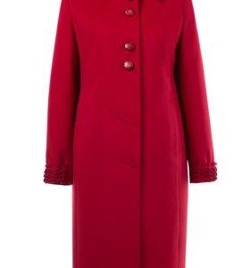 Новое кашемировое пальто р.56-58