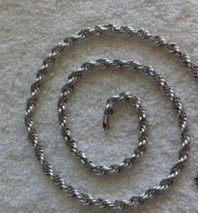 Цепь серебро 925