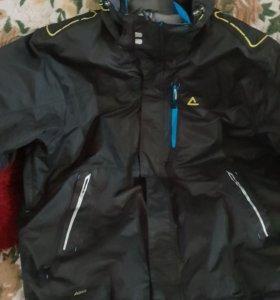 Куртка мужская осенне весенния с капюшеном