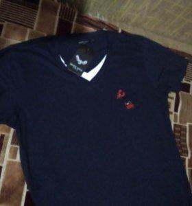 Новая фирменная футболка 56