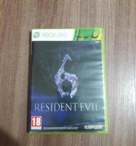RESIDENT EVEL 6 Ha Xbox 380