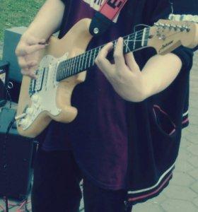 Обучение игре на гитаре, электрогитаре, бас гитаре