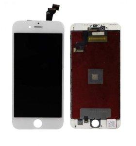 Дисплей iPhone 6 +тачскрин + рамка белый и черный