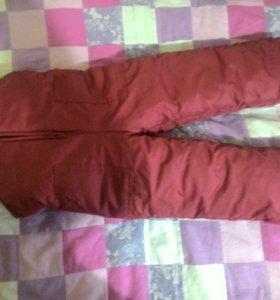 Болоневые брюки на девочку 2-3 года