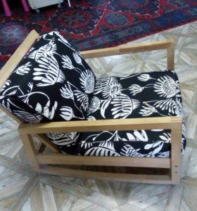 кресло качалка и диван кровать ikea (икея)