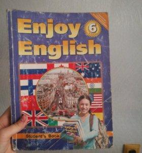 Enjoy English 6 класс учебник.