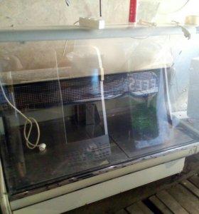 Холодильная витрина среднетемпературная 1.5 метра