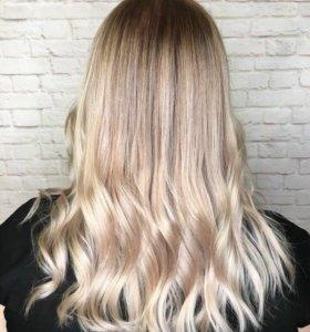 Окрашивания,стрижки волос, Ботокс волос