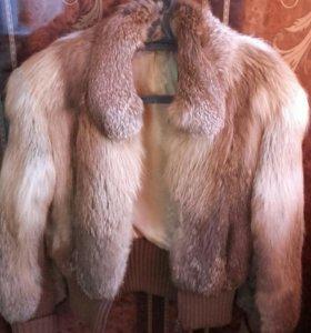 Зимняя куртка. Дубленка натуральная.