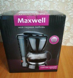 Новая Кофеварка Maxwell