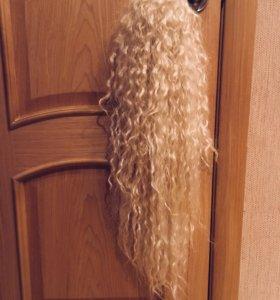 шиньон хвост парик