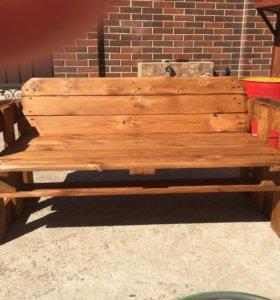Скамейка для дома и дачи