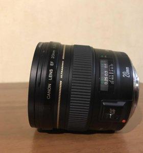 EF 20mm f2.8 + uv polaroid