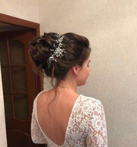 украшение в волосы (веточка)